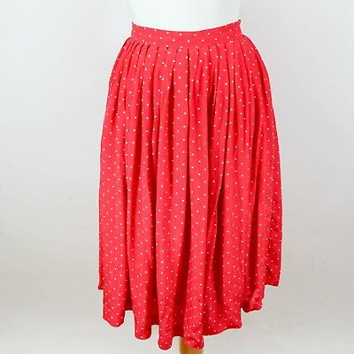 Frank Hanlolo Women Ladies Midi Skirts Full Circle Skater Skirts Red Skirts Clothing, Shoes & Accessories