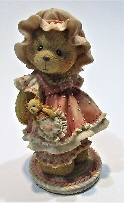 Cherished Teddies ~ Customer Holding On To Someone Special 916285  Enesco