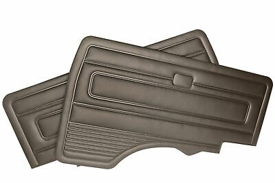 Just Kampers Front Door Cards Pair Black For VW T25 T3 1979-1992 251867015T