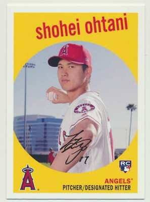 2018 Topps Archives   Shohei Ohtani (RC) Los Angeles Angels