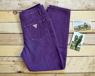 GUESS Women's Size 10 (28 Waist) Georges Marciano 80s/90s High Waist Mom Jeans