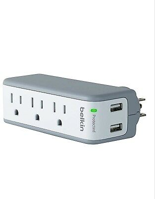 Belkin SurgePlus USB Swivel Surge Protector and Charger (power strip and USB)