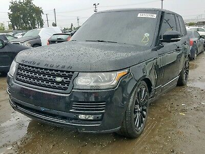 2015 Land Rover Range Rover VOUGE RANGE ROVER VOGUE RUNS AND DRIVES LIGHT SIDE DAMAGE