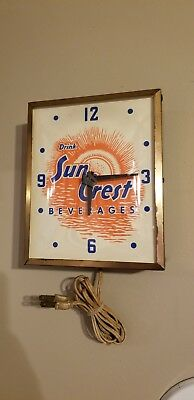 suncrest clock small clock