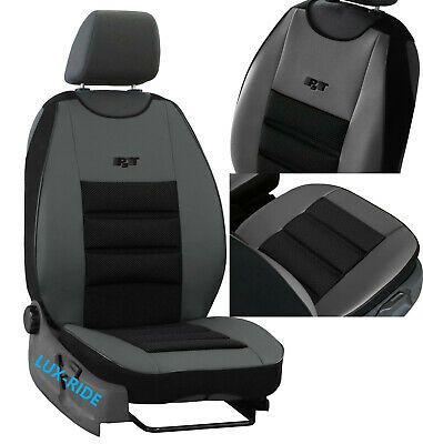 Front Seat Cover Mat Eco Leathers & Upholstery Fabric Fits Ford Transit Connect