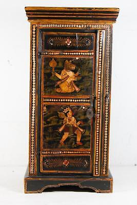 Vintage Handmade Storage Table/Cabinet From India