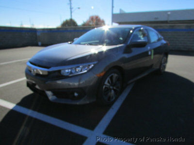 2018 Honda Civic Sedan EX-L CVT EX-L CVT New 4 dr Sedan CVT Gasoline 1.5L 4 Cyl Modern Steel Metallic