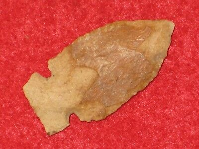 Authentic Native American artifact arrowhead Tennessee Knight Island point D2