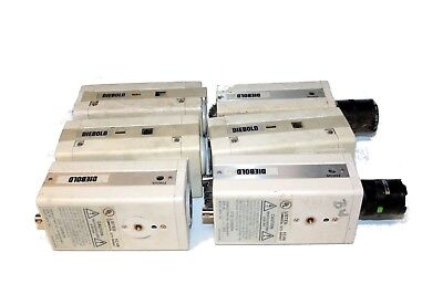 Lot of 6 Ikegami CCD Indoor Security Camera ICD-500