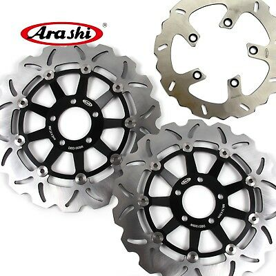 For KAWASAKI ZRX1200R 2001 - 2006 2002 2003 Brake System Front Rear Disc Rotors