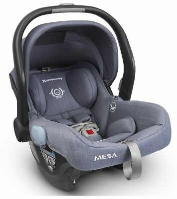 2018 UPPAbaby MESA Infant Car Seat - Henry (Blue Marl) Merino Wool-BRAND NEW