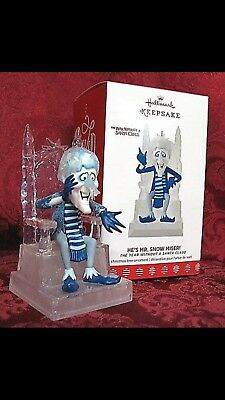 NIB Hallmark 2017 He's Mr Snow Miser The Year Without a Santa Claus Ornament