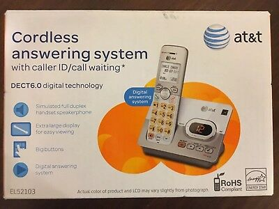 Brand New At&t 6.0 Answering System Home Phone