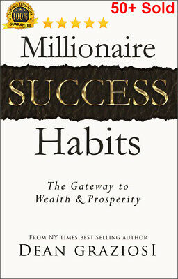 Millionaire Success Habits by Dean Graziosi with master resell right