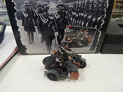King and Country WW11 German LAH Motorcycle Combo - LAH084