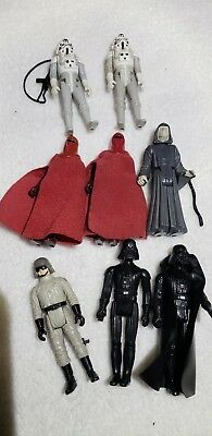 Star Wars vintage Kenner Imperial Lot of figures (repro weapons) Royal guards