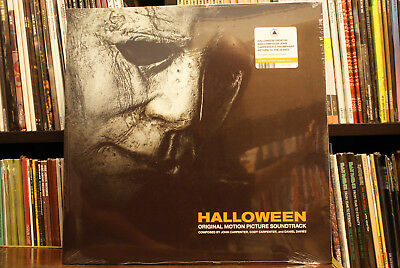 John Carpenter Halloween ost soundtrack limited pumpkin orange vinyl lp 2018