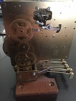 W.Haid 2 Jewels Clock Engine Only 1050-020 For Parts