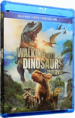 Walking With Dinosaurs The Movie Blu-ray + DVD + UltraViolet 2-Disc NEW Sealed