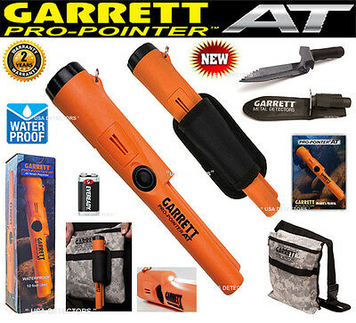 Garrett PRO POINTER AT Metal Detector Pinpointer+ EDGE DIGGER And CAMO POUCH