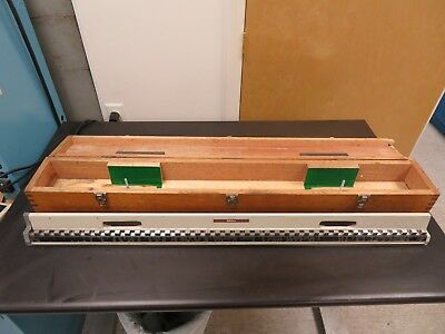 "Mitutoyo - 40"" Standard Reference/Calibration/Master Length Bar - 515-73 - NB20"