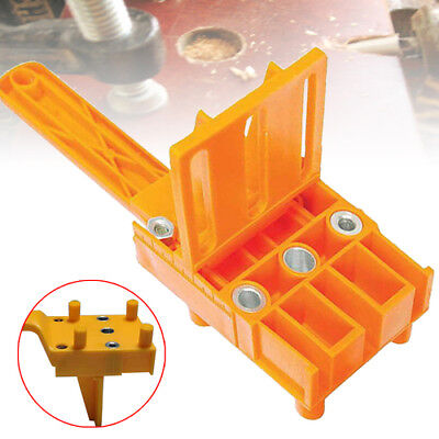 Carpenters Wood Dowelling Jig 30mm - Wood Drill Producing E L T Joints 6 8 10mm
