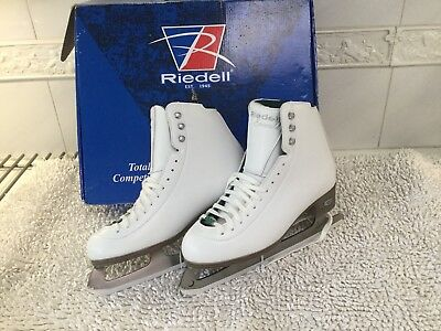 RIEDELL Ladies Emerald Ice Skates..size 9