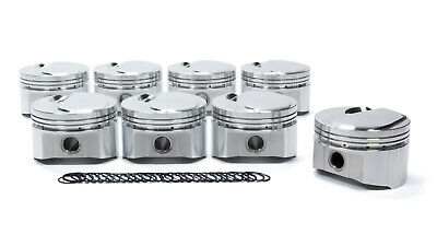 SPORTSMAN RACING PRODUCTS 306724 BBC Domed Piston Set 4.280 Bore +9cc
