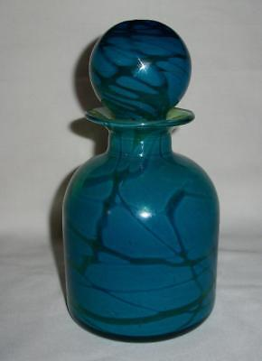 Mdina Art Glass Ming Decanter With Stopper Signed