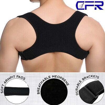 Posture Corrector Shoulder Brace Back Pain Support Belt Men Women Adult Child AU