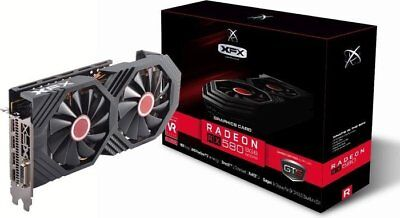 XFX RX580 RX570 AMD GPU GDDR5 Graphics Cards VR Ready