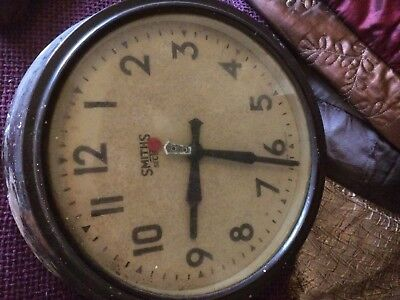 Smiths vintage electric wall clock