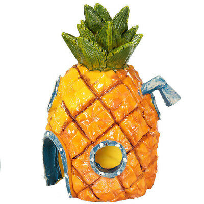 Aquarium Decor Pineapple Home Ornament Fish Tank Dectoration Fish Hideaway TY1