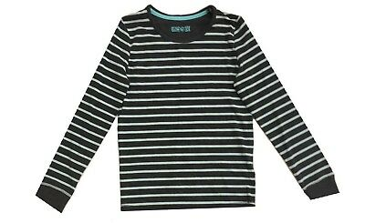 Ex Marks and Spencer Kids Girls Striped Pyjama Top 8-9 Years (P101.6)