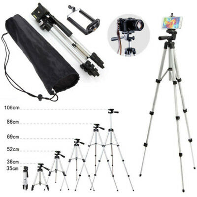 Professional Camera Tripod Stand Holder w/ Ball Head & Bag for DSLR Canon Nikon