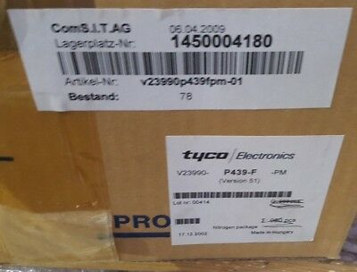 Tyco V23990P439Fpm-01 Power Module Qty: 1 (Motor Shelving)