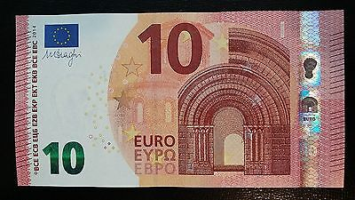 EUROPEAN UNION 10 Euro 2014 (France U) P21 Draghi UNC Banknote