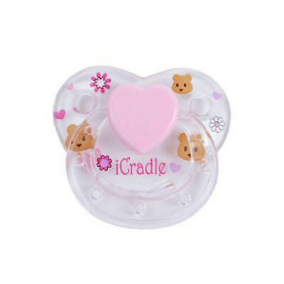 1pc Magnet Pacifier Reborn Doll Dummy Pacifier Reborn Baby Toy Accessories 5.5cm