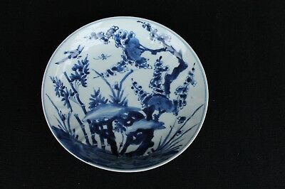 Kangxi plate with floral decoration Chinese taste ca. 1700
