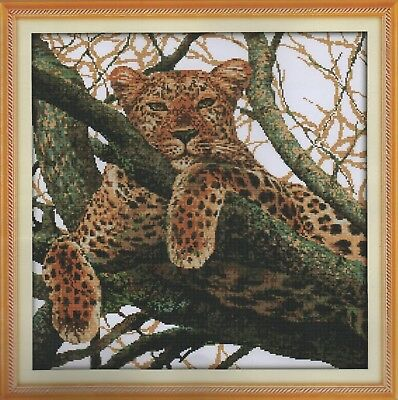 Counted Cross Stitch Kit, Magnificent Cheetah