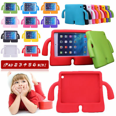 Children Kids Safe Rubber Shockproof EVA Foam Stand Case Cover for iPad Air MINI