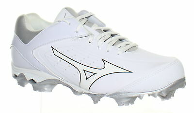 d1a0865d6a9 Mizuno Womens 9 Spike Advantage Finch Elite White White Softball Cleats  Size 8.5