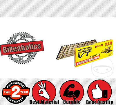 DID  Gold & Black VT2  Drive Chain 520 P 118 L for KTM EXC