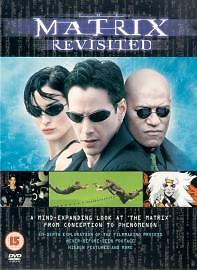 The Matrix - Revisited DVD   Keanu Reeves, Laurence Fishburne, SEALED