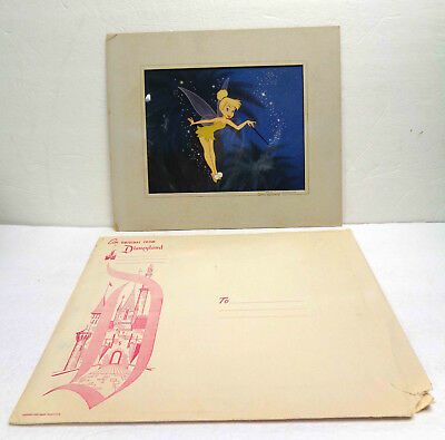 Walt Disney's Peter Pan Tinkerbell Hand Painted Reproduction Animation Cel! RARE