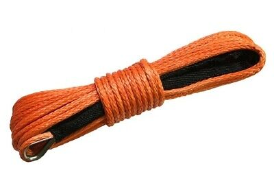 CORDE SYNTHETIQUE POUR TREUIL 12MMx26M CAPACITE DE CHARGE DE 12000KG