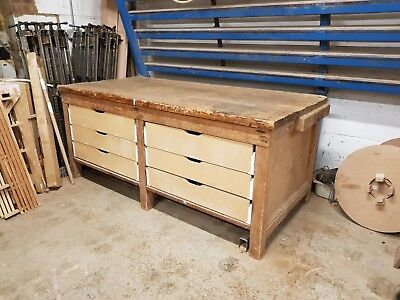 Work Bench (Very heavy duty) constructed in solid pine