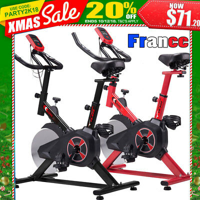 200kg Vélos d'appartement Exercice FITNESS CARDIO Volant Trainer Spinning Biking