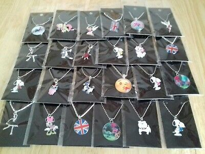 Wholesale joblot jewellery NEW 24  NECKLACES CARDED AND BAGGED