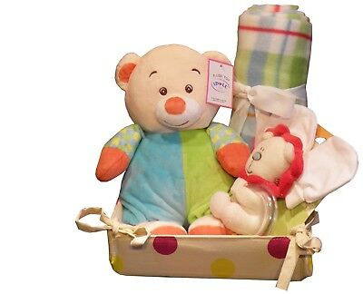 Unisex Baby Hamper & Blanket Gift Set Birth Baby Shower Maternity Leave Present